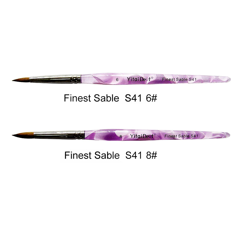 S41 Finest Sable Ceramic Purple Pen