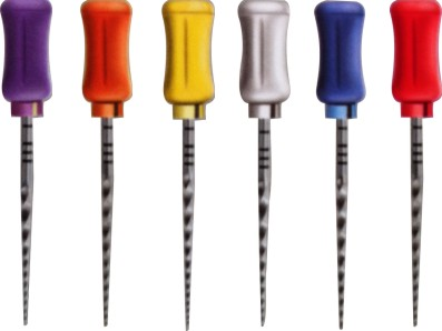 6Pcs Dental File SCF Handy Niti Alloy Rotary Super Files