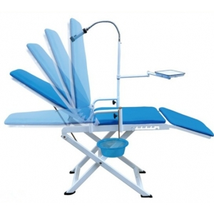 Dental Chair Portable Folding Chair For Dental Treatment and Bea...