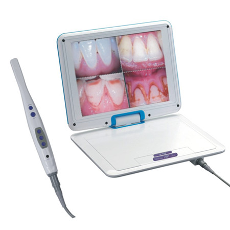 High Resolution 1/4 SONY CCD Intraoral Camera M-968 12.1 inch LCD