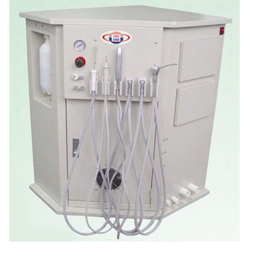 Dental Delivery System Cart Unit All in one with LED Fiber Optics Tube BD-408LED