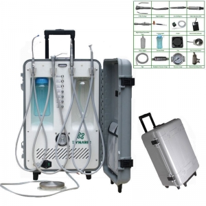 2015 Dental Portable Delivery Unit (DU892) Suction Work Power 550W 3 Way Syringe