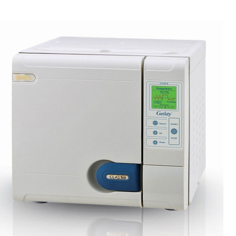 23L Class B Getidy Autoclave Sterilizer Vacuum Steam For Dental Medical Sterilisation