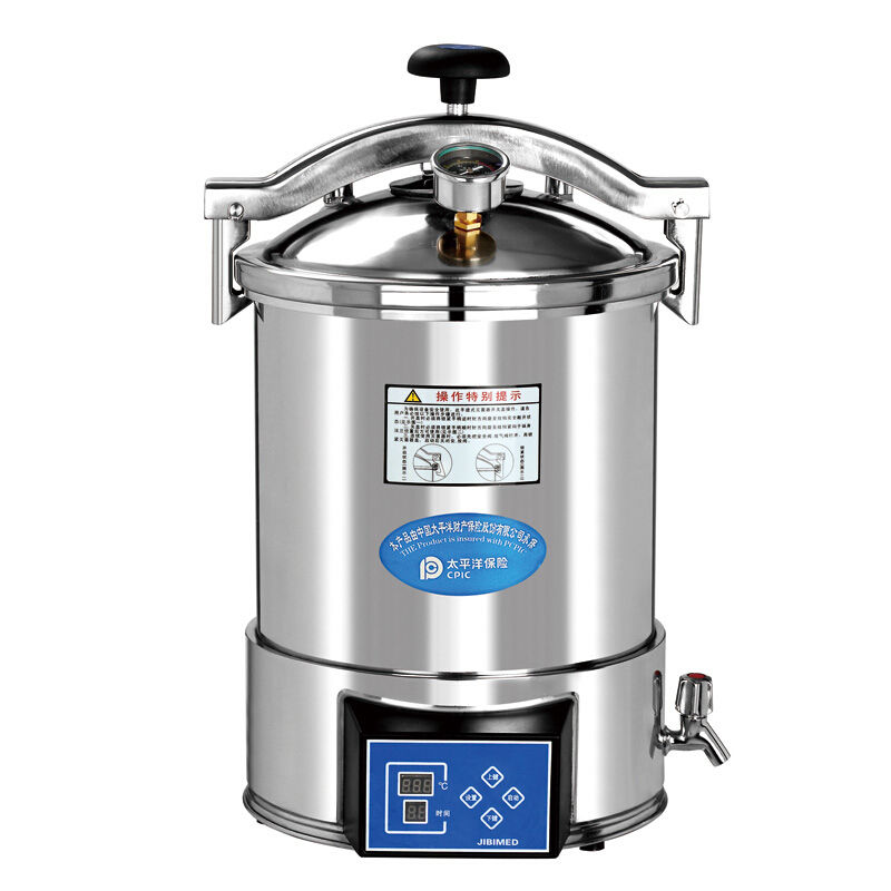 18L Portable Stainless Steel High Pressure Steam Medical Autoclave Sterilizer CE