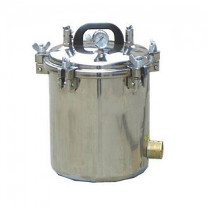 12L Portable Autoclave Sterilizer High Pressure Steam Medical Eq...