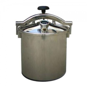 18L Portable Autoclave Sterilizer High Pressure Steam Medical Eq...