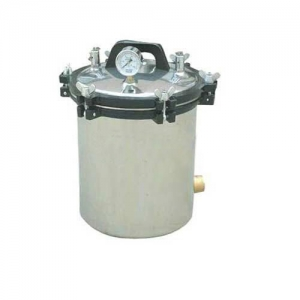 24L Portable Autoclave Sterilizer High Pressure Steam Medical Eq...