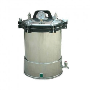 24L Portable Autoclave Sterilizer High Pressure Steam Medical Equipment YX-24LD