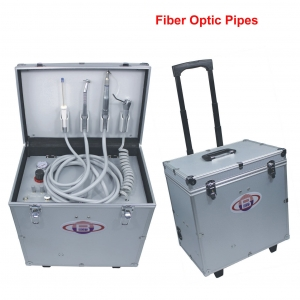 Dental Turbine Unit with Air Compressor Suction Triplex Syringe ...