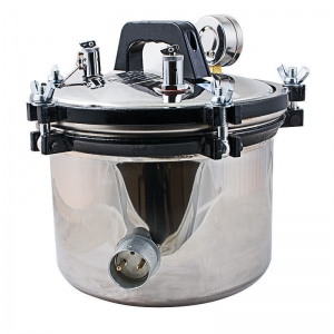 8L Mini Portable Autoclave Sterilizer Steam Electric Sterilisation Machine for Dental Lab