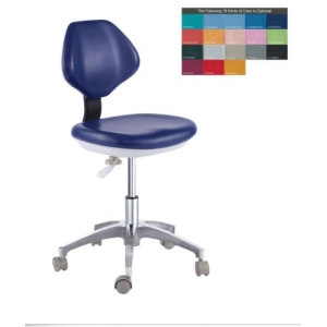 PU Leather Medical Dental Dentist's Chair Doctor's Stool Mobile ...