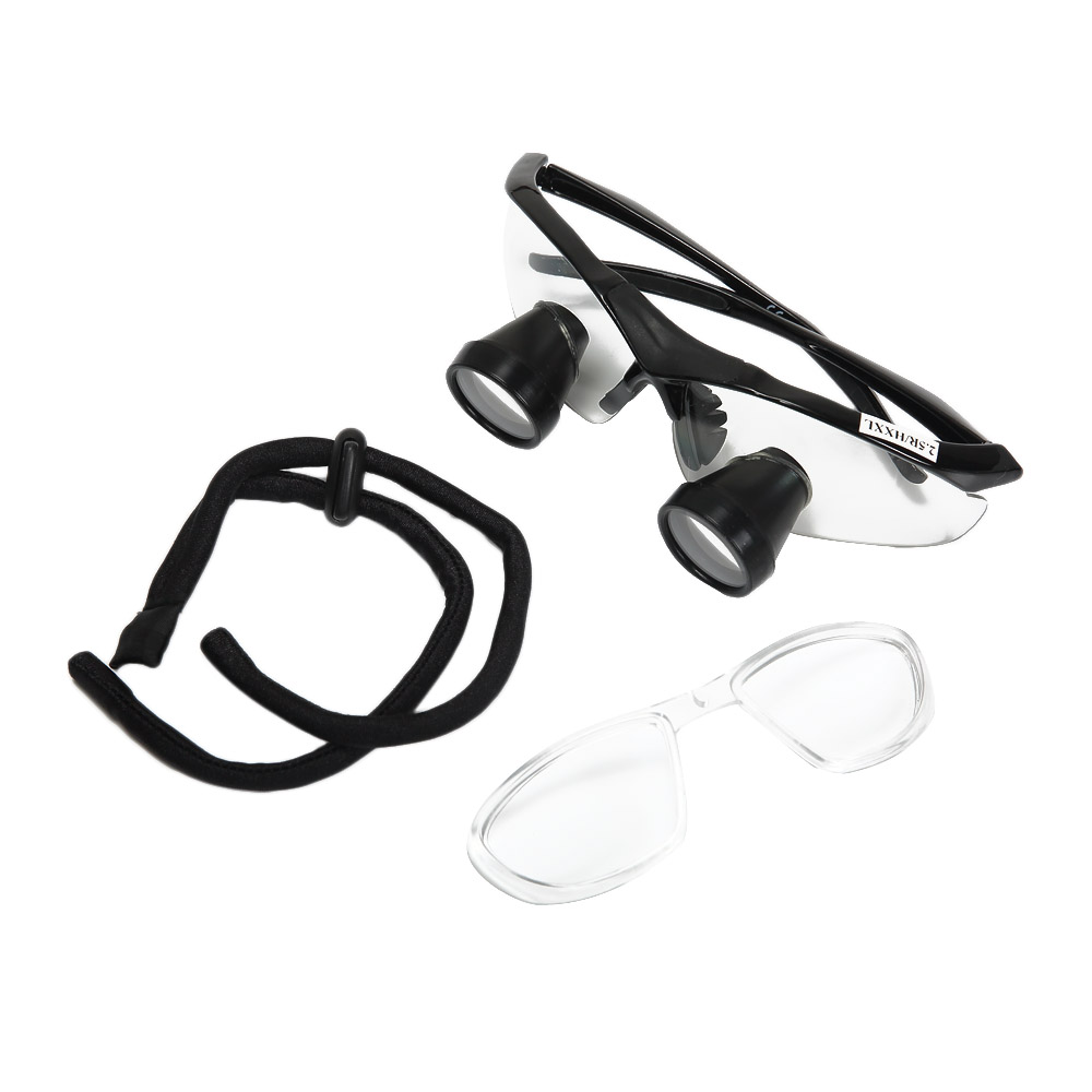 New 3.0X Dental Loupe Medical Binocular Surgical Magnifying Glass Eyes Customized