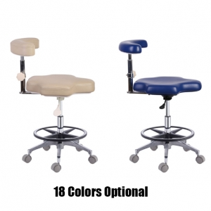 New Dental Medical Nurse Adjustable Mobile Chair QY90B Nurse's S...