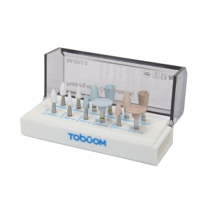 Toboom Composite Polishing Kit 12pcs RA0312D