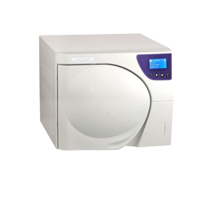 14L Class B Autoclave Sterilizer Fully Automatic 3 times Pre-vacuum without Printer