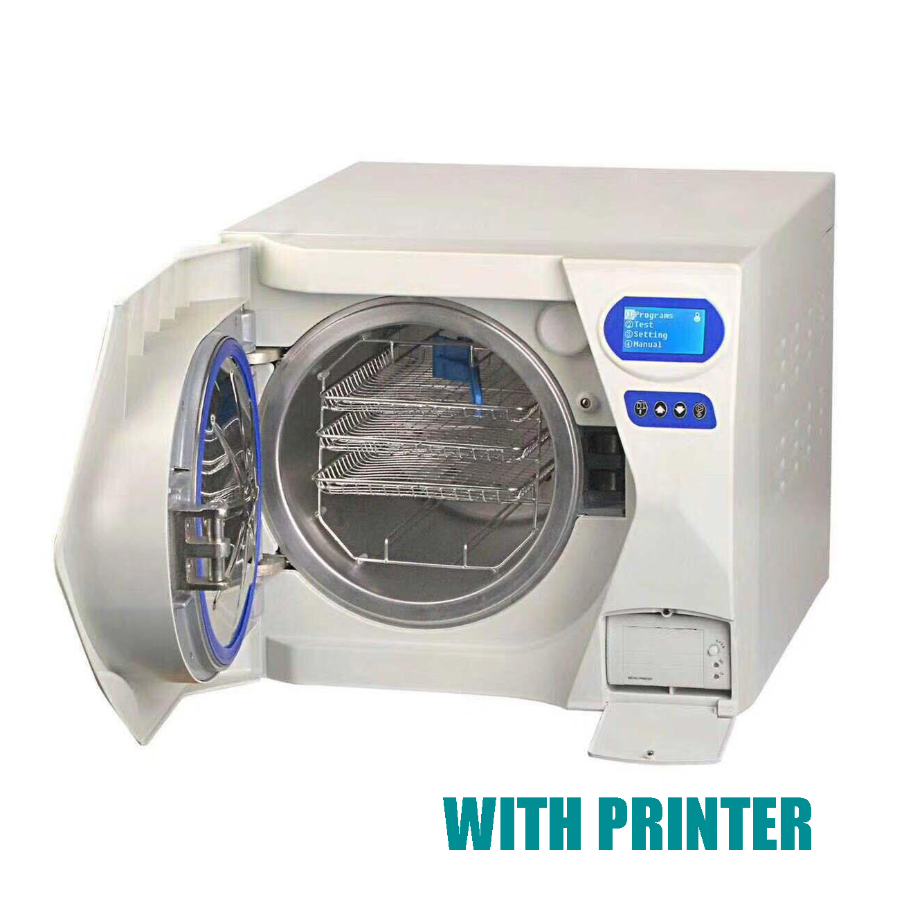 17L Class N Autoclave Sterilizer Vacuum Steam with Printer