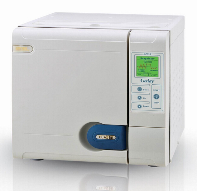 18L Class B Getidy Dental Steam Autoclave Sterilizer 3 Time Pre Vacuum JQA-18 CE