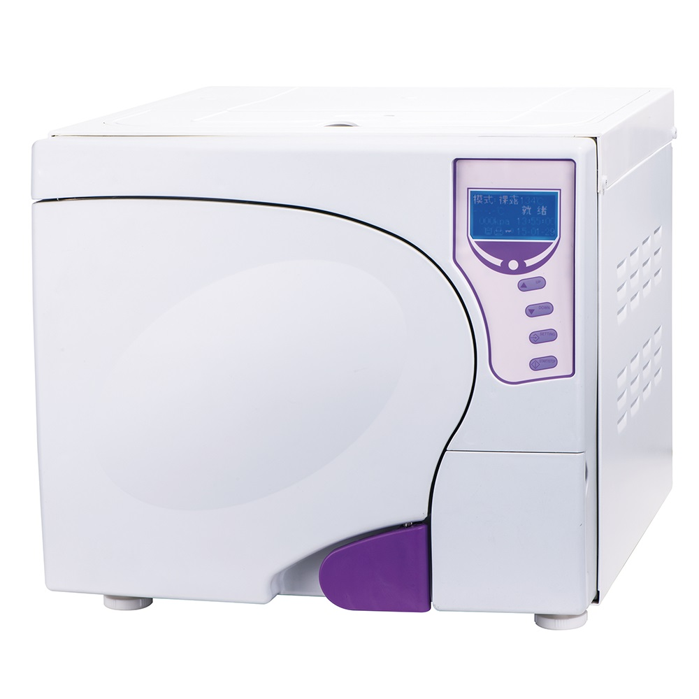23L-III Class B Dental Steam Autoclave Sterilizer 3 Time Pre Vacuum with Printer Upper Water Tank CE