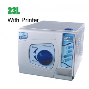 23L-II Class B Dental Medical Grade Vacuum Steam Autoclave Sterilizer with Printer LCD Screen CE