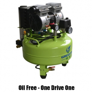 Greeloy Oil Free Mini Air Compressor With Drier GA-61Y