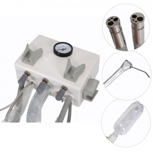 Dental Portable Turbine Unit Work with Air Compressor Water Handpiece Syringe