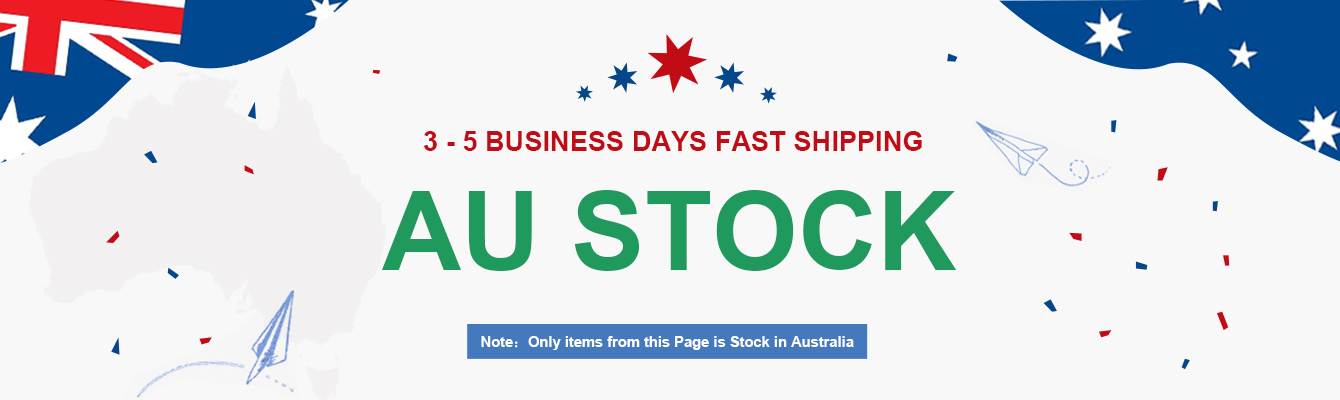 3 - 5 BUSINESS DAYS FAST SHIPPING